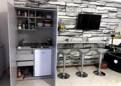 Armadio Cucina Attrezzato, in camera con Idromassaggio
