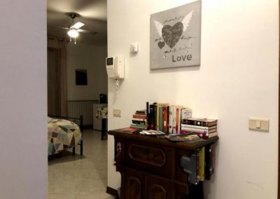 Ingresso Camera Suite con Idromassaggio privato vicino Assisi